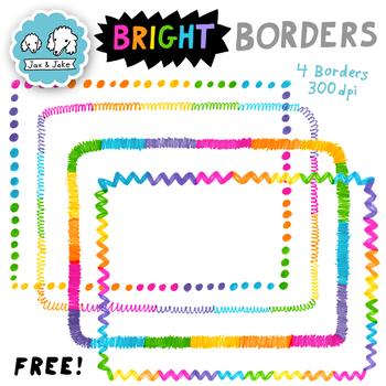 Clip Art: FREE Bright Borders