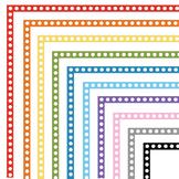 Clip Art: FREE Polka Dot Borders