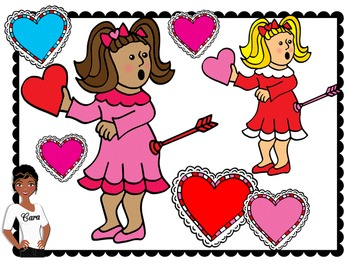 Clip Art~ FREEBIE Valentine's Day