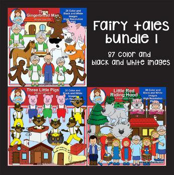 Clip Art - Fairy Tales Bundle 1