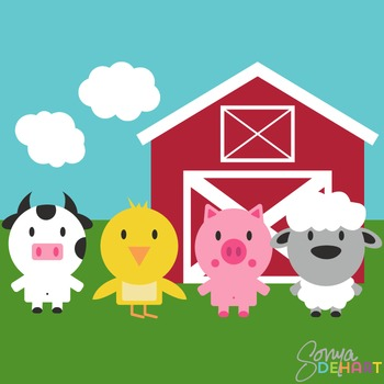Clipart - Farm Set
