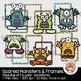 Monster Clip Art & Frames Bundle