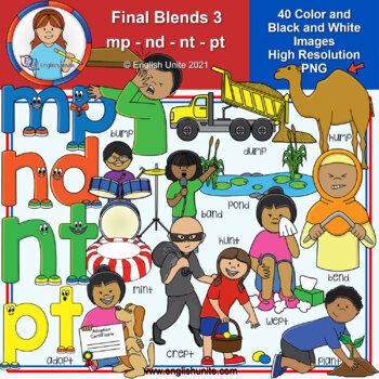 Clip Art - Final Blends 3 (mp/nd/nt/pt)
