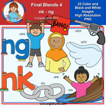 Clip Art - Final Blends 4 (ng/nk)
