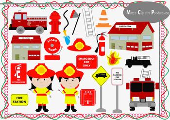 Clip Art - Fire Station 22