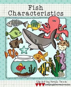 Clip Art: Fish Characteristics