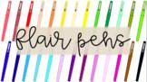 Clip Art - Flair Pens