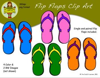 Clip Art: Flip Flops FREEBIE