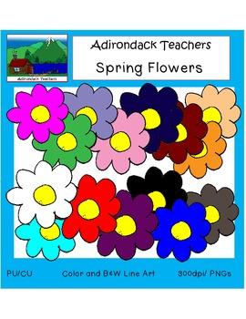 Clip Art: Flowers