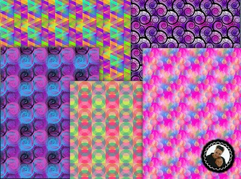 Clip Art~ Follower Freebie! Digital Paper Collection