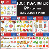 Clip Art - Food Mega Bundle