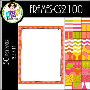 Clip Art ● Frames CS2100 ● PowerPoint Background