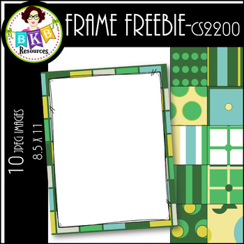 Clip Art ● Frames CS2200 ● PowerPoint Background ● FREEBIE