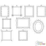 Frames - Hanging Doodles