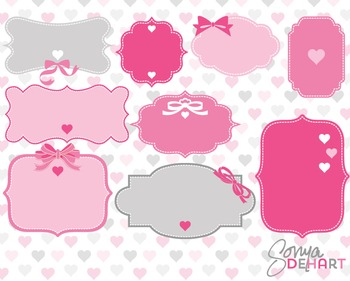 Frames - Valentine's Day Hearts