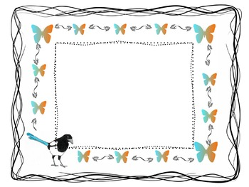 Frames and Borders for Classroom and Commerical use
