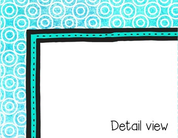 """Clip Art Frames and Distressed Papers - """"Tianna Collection"""""""