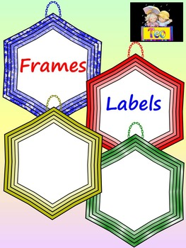 Frames and Labels - Clip Art