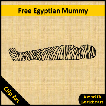 Clip Art: Free Egyptian Mummy