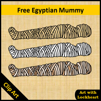 Clip Art: Free Egyptian Mummy