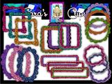 Clip Art~  Free Glitter Frames!