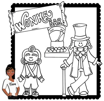 Clip Art ~ Free Willy Wonka Mini-Set