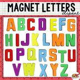 Magnet Letter Clip Art (Uppercase Alphabet)