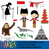 Clip Art From Indonesia With Love