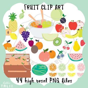 Clip Art: Fruit Clipart