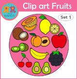 Clip Art Fruits Set 1