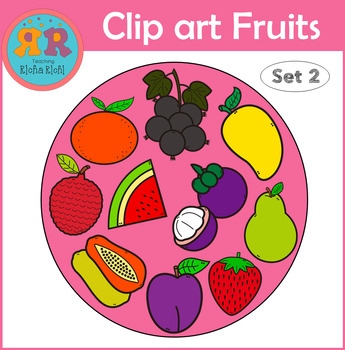 Clip Art Fruits Set 2