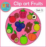 Clip Art Fruits Set 3