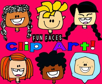 Clip Art Fun Faces