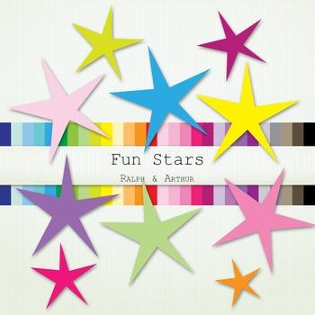 Clip Art - Fun Stars
