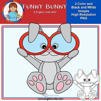 Clip Art - Funny Bunny