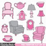 Clip Art - Furniture Pink