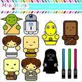Clip Art Star Wars Characters
