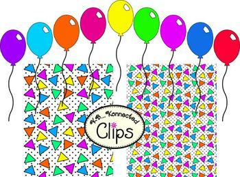 """Clip Art! Get your Party on with """"Birthday Bash""""!"""