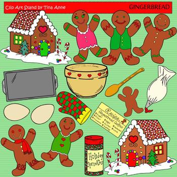 Clip Art Gingerbread
