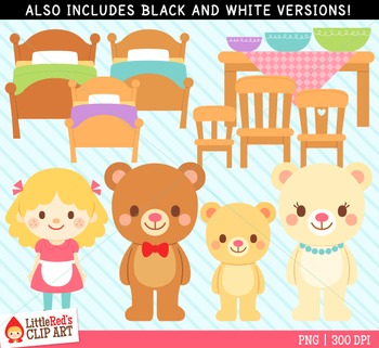 Goldilocks Clipart