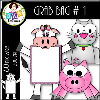 Clip Art ● Grab Bag #1 ● Clip Art for Commercial Use