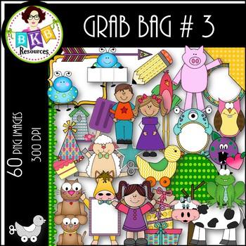 Clip Art ● Grab Bag #3 ● Clip Art for Commercial Use