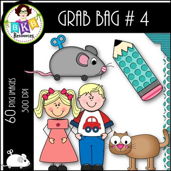 Clip Art ● Grab Bag #4 ● Clip Art for Commercial Use
