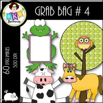 Clip Art ● Grab Bag #4 ● Clip Art for Commercial Use