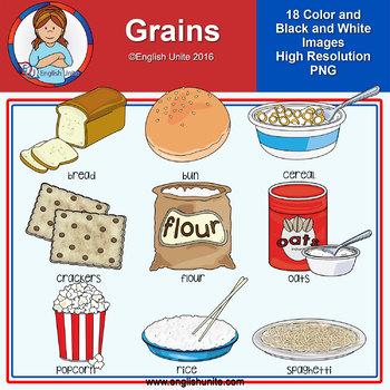 Clip Art - Grains