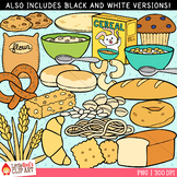 Bread and Grains Food Clip Art
