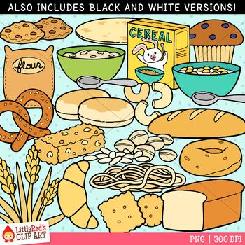 Bread and Grains Food Clip Art