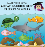 Clip Art- Great Barrier Reef - Bundle samples