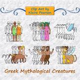 Clip Art: Greek Mythological Creatures