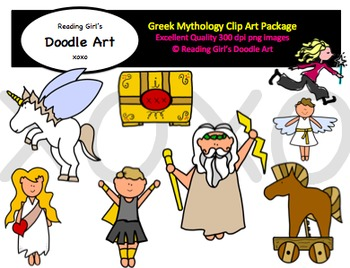 Greek Mythology Clipart